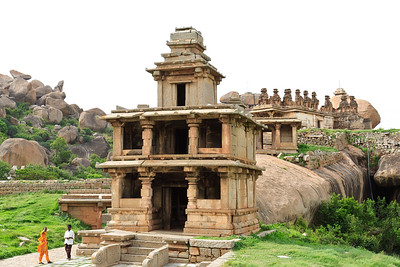 08IB357 Chitradurga Fort India Karnataka Temple