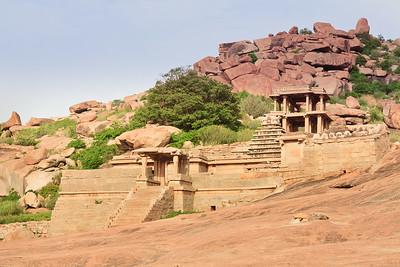08IB335 Hampi Hindu India Karnataka Temple