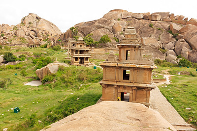 08IB352 Chitradurga Fort India Karnataka Temple