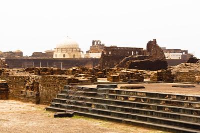 08IB476 Bidar Fort India Karnataka Landscapes