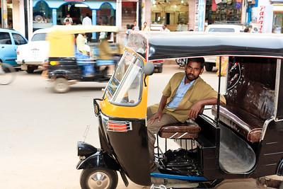 08IB375 Rickshaw Rickshaw Chitradurga India Karnataka