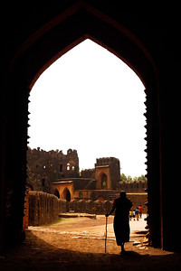 08IB466 Architecture Bidar Bidar Fort India Karnataka