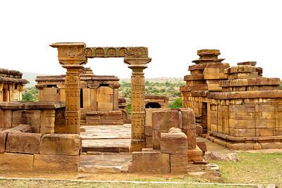 08IB264 Aihole Pattadakal Hindu India Karnataka Temple