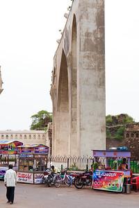 08IB172 Bijapur Gagan Mahal India Karnataka Palace Ruin