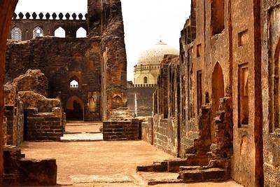 08IB470 Architecture Bidar Bidar Fort India Karnataka