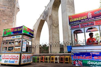 08IB179 Bijapur Gagan Mahal India Karnataka Palace Ruin