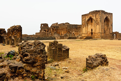 08IB477 Bidar Fort India Karnataka Landscapes