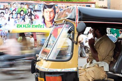 08IB372 Rickshaw Rickshaw Chitradurga India Karnataka
