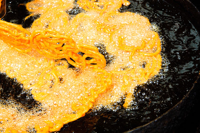 08IB501 Bidar Chef India Jalebi Karnataka Orange Sweet
