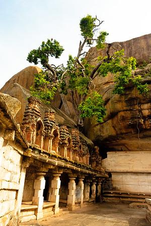 08IB359 Chitradurga Fort India Karnataka Temple