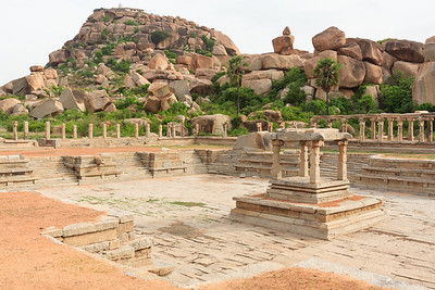 08IB334 Hampi Hindu India Karnataka Temple