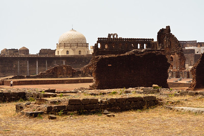 08IB474 Bidar Fort India Karnataka Landscapes