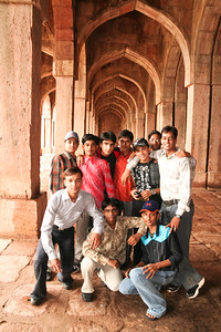 Click here to buy at Alamy. Keywords: India Islam Madhya Pradesh Mandu Mosque Tourists MyID: 06IP291