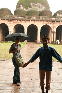 Click here to buy at Alamy. Keywords: India Islam Madhya Pradesh Mandu Mosque Tourists MyID: 06IP288