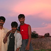 """<a href=""""http://www.alamy.com/search-results.asp?qt=BH4AG9"""" Title=""""Click to buy this image at Alamy"""" Target=""""_blank"""">Click here to buy at Alamy. Keywords: Datia India Madhya Pradesh Pinks Sunset Villager MyID: 06IP239</a>"""