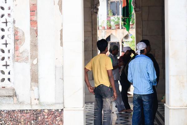 08IB016 Haji Ali Mosque Hindu India Maharashtra Mumbai