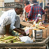 Click here to buy at Alamy. Keywords: Corn Grain India Jaipur Rajasthan Vendor sugarcane MyID: 06IP452