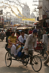 Click here to buy at Alamy. Keywords: Amritsar Golden Temple India Punjab Rickshaw Sikh MyID: 06IP462