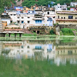 06IP387 Bundi Hindu India Lake Rajasthan Faith Temple