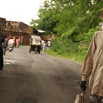 06IP418 Chittorgarh India Old Men Rajasthan Street Torso