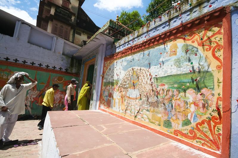 Click here to buy at Alamy. Keywords: Hindu India Kota Paintings Rajasthan Faith Temple MyID: 06IP312