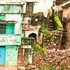Click here to buy at Alamy. Keywords: Bijaipur Detail Green Houses India Rajasthan MyID: 06IP391