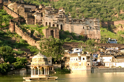 Click here to buy at Alamy. Keywords: Bundi Palace City Hindu India Rajasthan MyID: 06IP324
