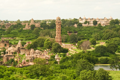 06IP416 Chittorgarh Fort Hindu India Rajasthan