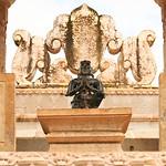 Click here to buy at Alamy. Keywords: Chittorgarh Hindu India Rajasthan Faith Statue MyID: 06IP399