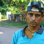 06IP322 Bundi Head and Shoulders India Individuals Portraits Rajasthan Streets Younger Men
