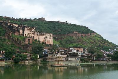 Click here to buy at Alamy. Keywords: Hindu India Lake Palace Rajasthan Faith Sunset MyID: 06IP389