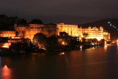 06IP421 City Palace India Lake Pichola Rajasthan Udaipur