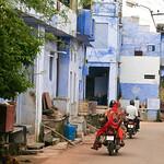 06IP397 Bijaipur Blue India Motorbike Rajasthan Transport