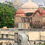 06IP446 Hindu Houses India Jaipur Rajasthan Faith Temple