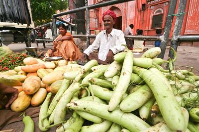 Click here to buy at Alamy. Keywords: Vegetables Fruits India Jaipur Market Rajasthan MyID: 06IP445