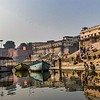 Early morning on the ghats