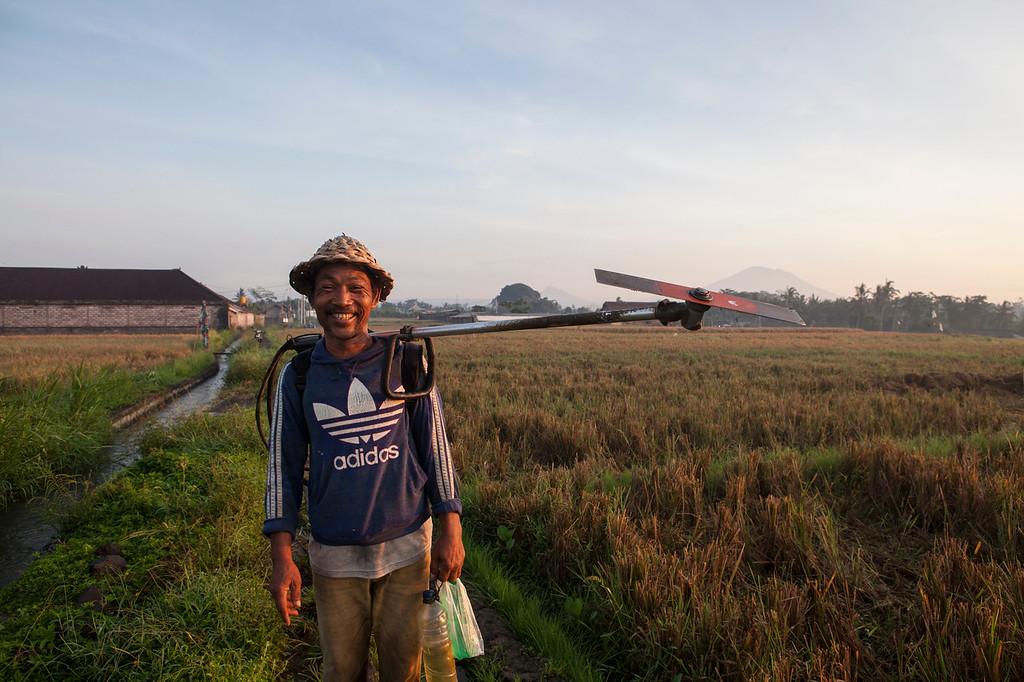 The Happy Farmer, Lotunduh, Bali