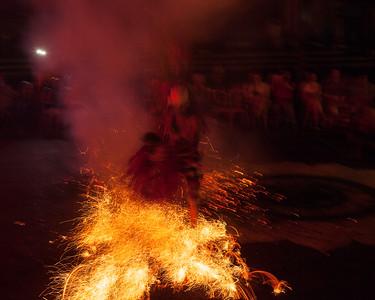 Embers, Fire Dance, Bali