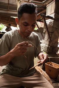 Wayan, Weaver, Tenganan, East Bali