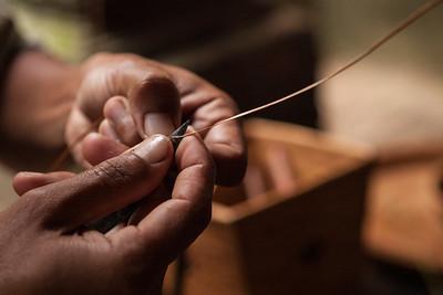 Weaving, Tenganan, East Bali