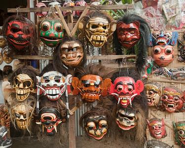 Mask Stall, Tampaksiring, Bali