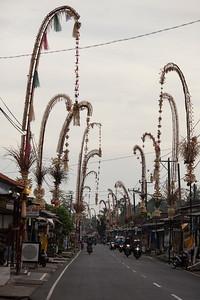 Penjor, Petulu, Bali