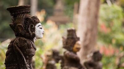 Statue, Pura Tirta Empul, Bali