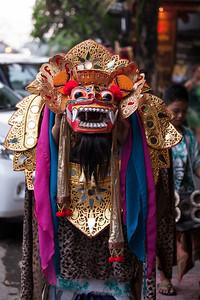 Barong on the Street, Ubud, Bali