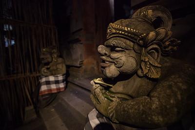 Brooding Door Guard, Ubud, Bali