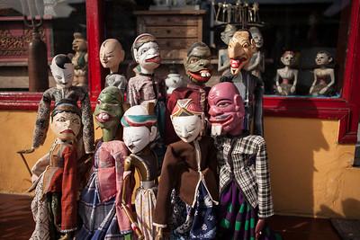 Traditional Balinese Puppets, Ubud, Bali