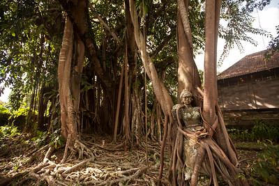 Tree Goddess, Ubud Art Museum, Bali