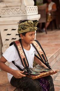 Percussionist, Ubud, Bali