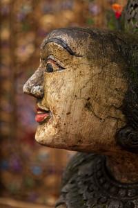 Weathered Head, Ubud, Bali