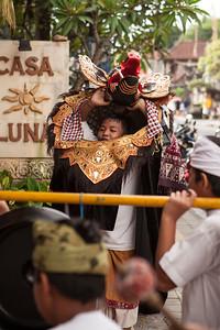 Barong at Casa Luna, Ubud, Bali